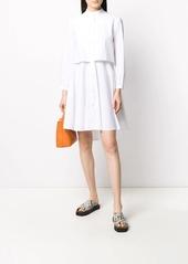Armani layered shirt dress
