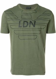 Armani LDN printed T-shirt