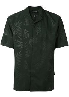 Armani Leaf print shirt