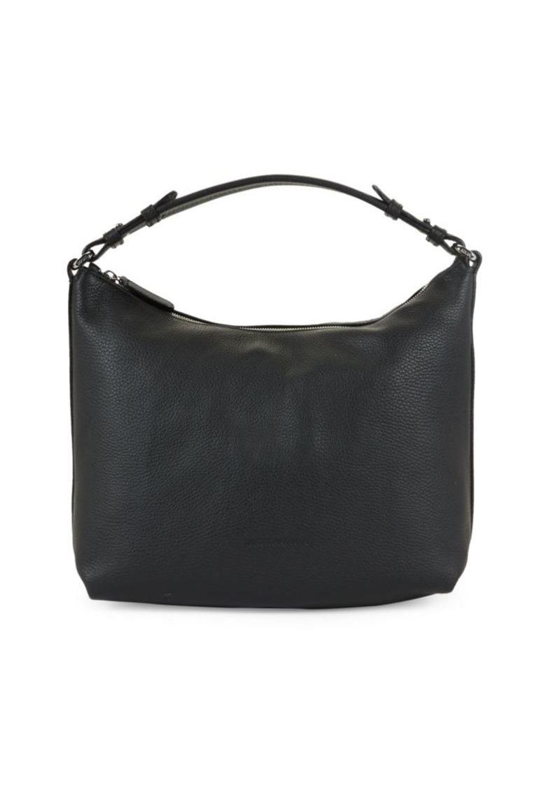 Armani Leather Shoulder Bag