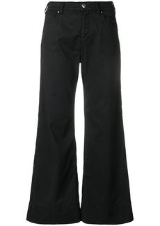 Armani light flared jeans
