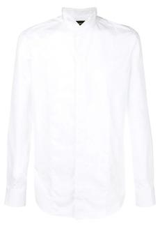 Armani lined-bib formal shirt