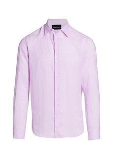 Armani Linen Sport Shirt