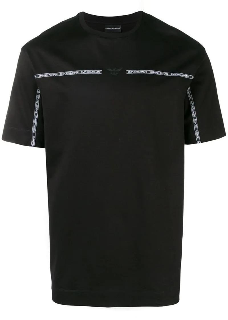 Armani logo band T-shirt