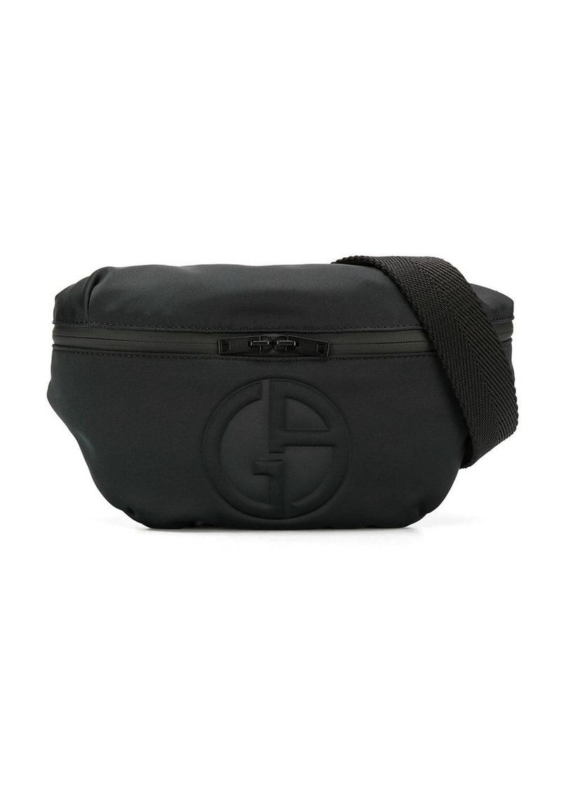Armani logo belt bag