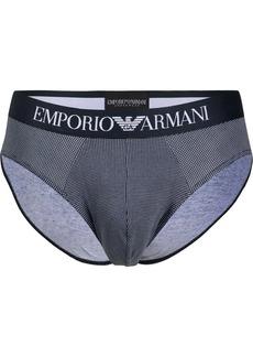 Armani logo briefs