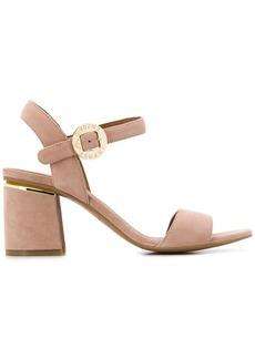 Armani logo buckled sandals