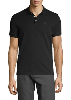 Armani Logo Cotton Polo