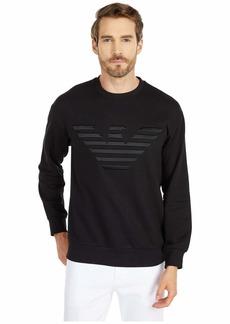Armani Logo Crew Neck Sweatshirt