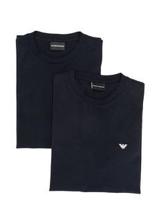 Armani logo crew neck T-shirt
