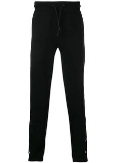 Armani logo detail track pants