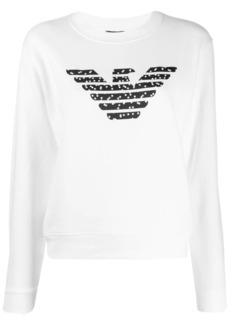 Armani logo dot sweatshirt