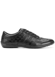 Armani logo embossed runner sneakers