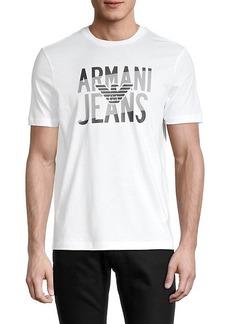 Armani Logo Graphic T-Shirt