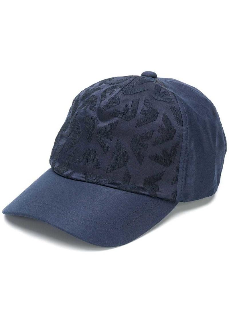 Armani logo hat