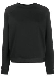 Armani logo hem sweatshirt