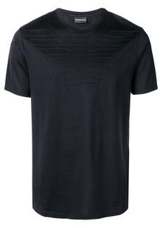 Armani logo jacquard T-shirt