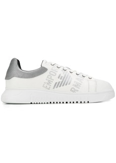 Armani logo low-top sneakers