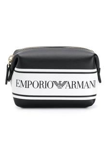 Armani logo make-up bag