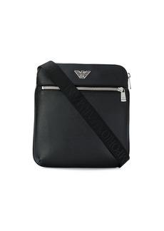 Armani logo messenger bag