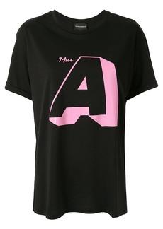 Armani Logo oversized T-shirt