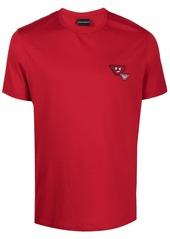Armani logo patch T-shirt