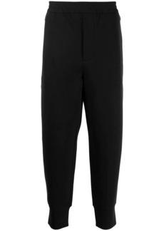 Armani logo-patch track pants