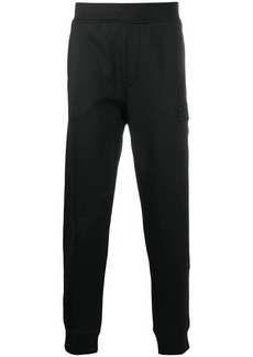Armani logo patch track trousers