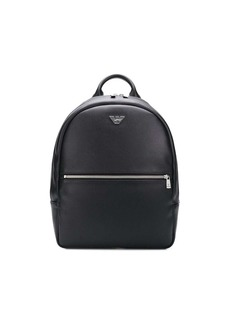 Armani logo plaque backpack