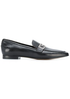 Armani logo plaque loafers