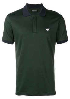 Armani logo polo shirt