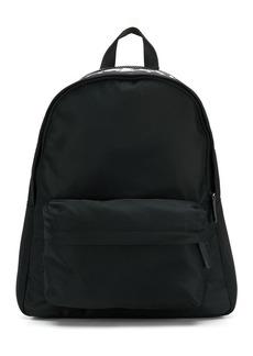 Armani logo print backpack