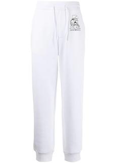 Armani logo-print drawstring track pants