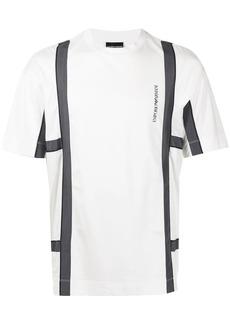 Armani logo-print panelled T-Shirt