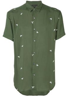 Armani logo print shirt