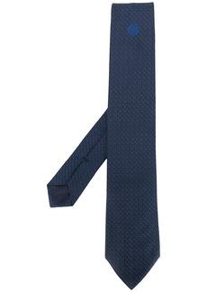 Armani logo print tie
