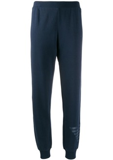 Armani logo print track trousers