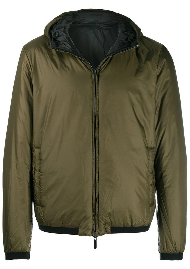 Armani logo printed lightweight jacket