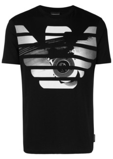 Armani logo printed short sleeved T-shirt