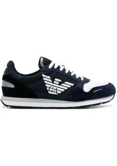 Armani logo runner sneakers