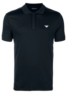 Armani logo short-sleeve polo top