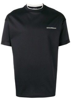 Armani logo short-sleeve T-shirt