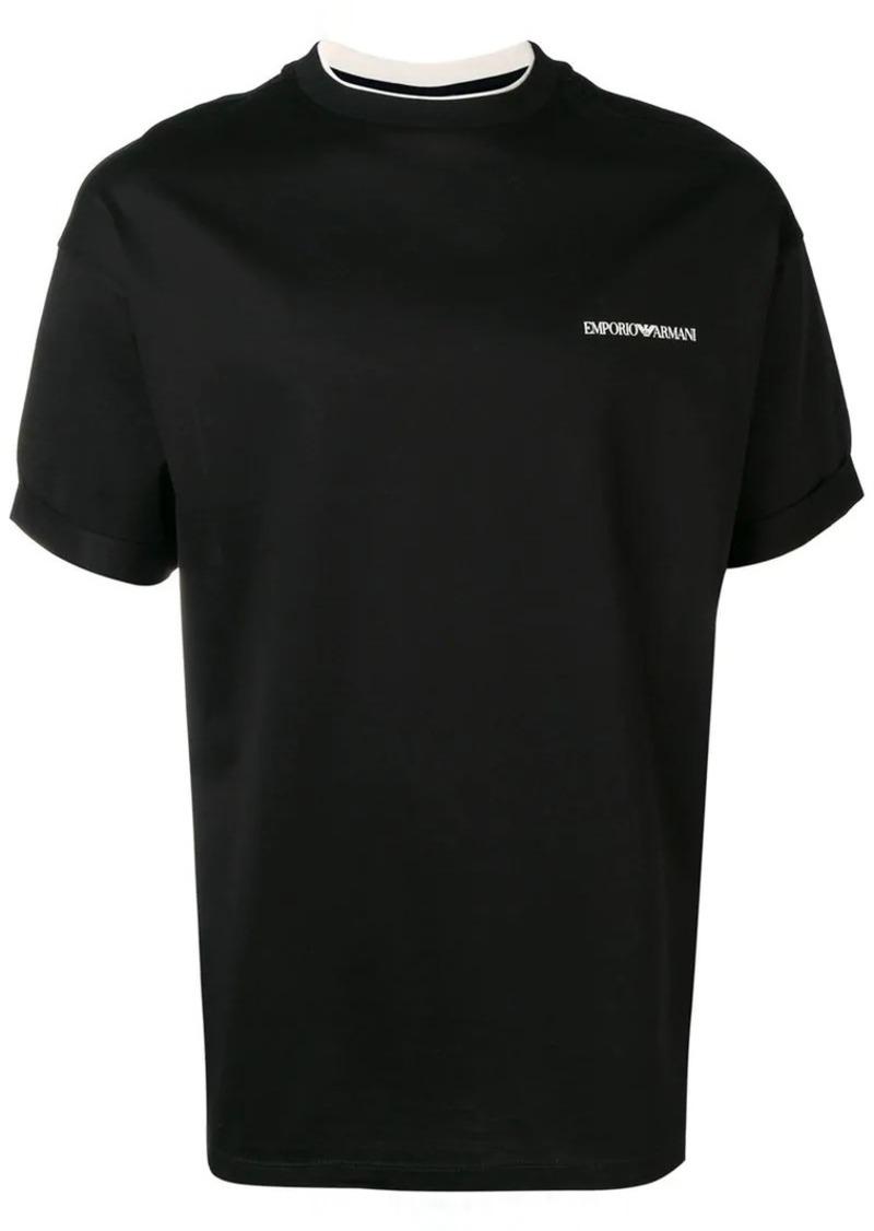 Armani logo short-sleeve T-shirt