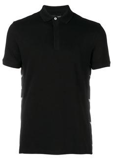 Armani logo sided polo shirt