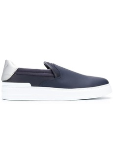 Armani logo slip-on sneakers
