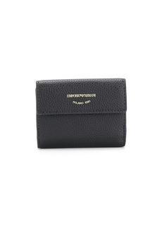 Armani logo stamp purse