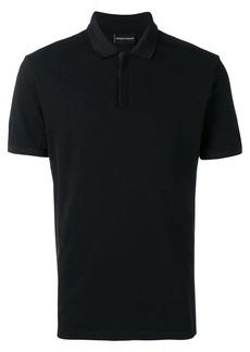 Armani logo tape polo shirt