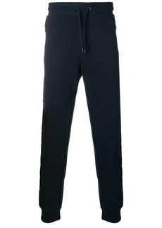 Armani Logo-tape track pants