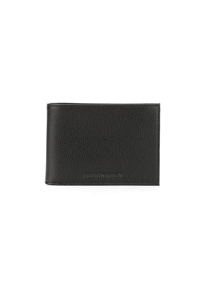 Armani logo wallet and keyring set