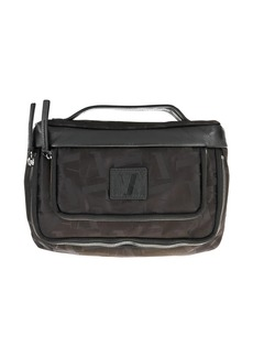 Armani logo washbag